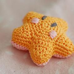 Bashful Starfish - crochet softies animal - Nett Hulse - free pdf pattern #amigurumi