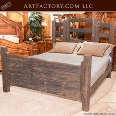 Western Style Cedar Bed Set Custom Wood Furniture Bsy900 Your