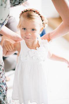 Such a cutie! http://www.stylemepretty.com/destination-weddings/2015/07/17/rustic-family-oriented-wedding-under-the-tuscan-sun/ | Photography: Lisa Poggi - http://www.lisapoggi.com/
