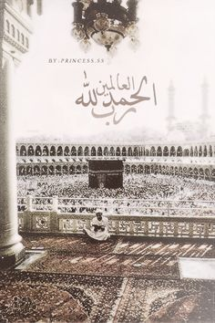 All praise is due to Allah, the Lord of all being. (Quran 1:2)