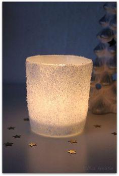 EsKa Kreativ: [Blog - Adventskalender] - Türchen Nummer 21 - Salzkristalle und ein schnelles DIY