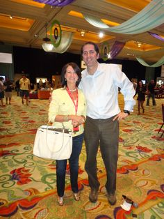 Sandy Boyd and Phil Gordon Encore in Las Vegas