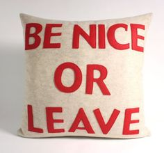 be nice or leave pillow - Google Search