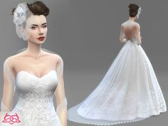 Sims 4 CC's - The Best: Wedding Set by Colores Urbanos