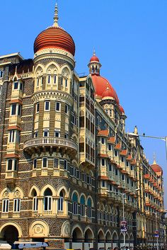 The Taj Mahal Palace Hotel in Mumbai, India. My mother & I stayed in this hotel. In 1973 it was still called Bombay.