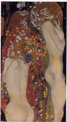 Gustav Klimt: Water Serpents II