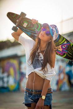i want to learn how to longboard. #longboard #longboardinggirls