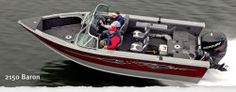 New 2013 - Lund Boats - 2150 Baron