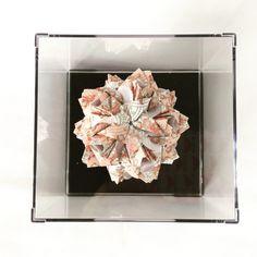 A personal favorite from my Etsy shop https://www.etsy.com/listing/480655338/kusudama-little-roses-origami-ball-paper