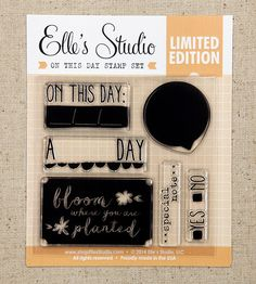 On This Day Exclusive Stamp :: Stamps :: Exclusives :: Elle's Studio