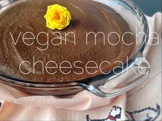 Skip the oven and whip up this easy no-bake vegan mocha cheesecake. Gluten-free and full of chocolatey coffee goodness.