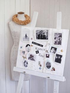 メモリアルボード 手作り結婚式のすすめ「幸せのたね。」