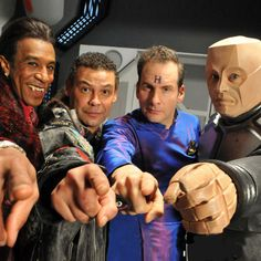 red dwarf the end | Red Dwarf files again!... again!