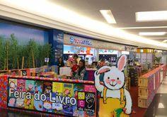 Passeio das Águas Shopping realiza Feira Cultural do Livro
