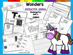 Coral's Corner has heard your feedback and is happy to present an Interactive Journal MEGA BUNDLE for Kindergarten McGraw Hill Wonders Unit 2!This 53 page Kindergarten interactive journal is aligned to Common Core and to the McGraw Hill Wonders series for Unit 1.