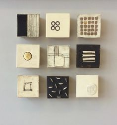 """16""""x16""""x2.5""""as shown each square approx 5""""x5""""x2.5"""" : Currently Available : Lori Katz Ceramic Design 