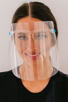Diy Mask, Diy Face Mask, Face Masks, Thin Frame Glasses, Clear Face Mask, Wearing Glasses, Fashion Face Mask, Health And Safety, Eyebrows