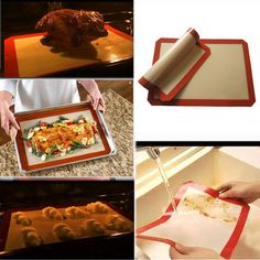 Honana Silicone Baking Mat Fiberglass Non-stick Baking Cake Cookie Bread Pad is fashionable and cheap, come to NewChic to see more trendy Honana Silicone Baking Mat Fiberglass Non-stick Baking Cake Cookie Bread Pad online Mobile. Silicone Baking Mat, Silicone Bakeware, Cake Cookies, No Bake Cake, Bread, Baking Supplies, Gadgets, Tools, Free Shipping