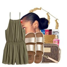 """✨"" by ayeeitsdessa ❤ liked on Polyvore featuring Billabong and H&M"