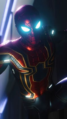 Downaload Iron-spider, Spider-man video game, Iron suit wallpaper for screen Samsung Galaxy mini Neo, Alpha, Sony Xperia Compact ASUS Zenfone Marvel Comics, Marvel Fan, Marvel Heroes, Marvel Characters, Marvel Avengers, Spiderman Suits, Spiderman Art, Amazing Spiderman, Iron Man Wallpaper