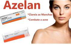 Azelan: a solução para quem tem acne, manchas e pele oleosa! Ele controla a oleosidade, combate a acne e os cravos e refina a pele. É tudo de bom!
