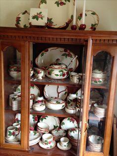 Vintage Franciscan Red Apple China Sugar Bowl | memories | Pinterest ...