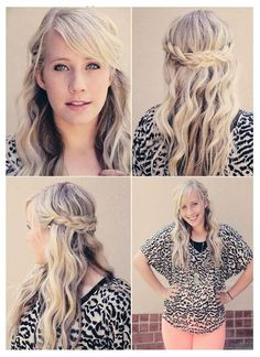 Make A Braided Crown | hairstyles tutorial