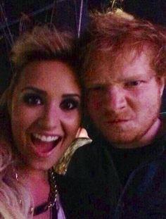 Ed and Demi!