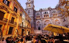 Malaga, Spain... Actually had dinner at that spot :)