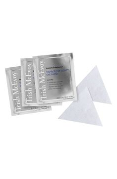 Free shipping and returns on Trish McEvoy Instant Solutions® Triangle of Light® Eye Mask at Nordstrom.com. What it is: An intense, fast-acting undereye treatment that quickly delivers a brighter, rested eye appearance.Who it's for: Anyone concerned with undereye darkness or lines.What it does: The concentrated formula dramatically soothes, invigorates, brightens, de-puffs, hydrates, plumps, firms and smoothes skin.