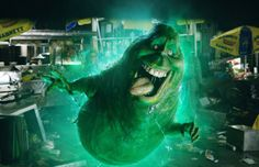 Pin for Later: 12 References the New Ghostbusters Movie Makes to the Original Films Slimer! What would a Ghostbusters movie be without Slimer? The green amorphous creature appears in the reboot — along with a girlfriend!
