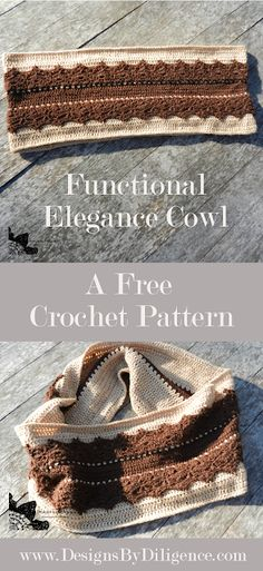 Designs by Diligence: Functional Elegance Cowl