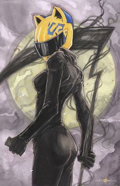 Celty Sturluson Durarara by ChrisOzFulton.deviantart.com on @DeviantArt