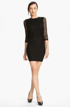 Elizabeth and James 'Larissa' Knot Detail Dress available at #Nordstrom - BLUSH OPTION