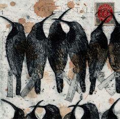 Sun Birds, by Glen Skien