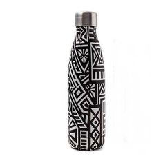 Thermosflasche Afrostyle 500ml Planer, Water Bottle, Tea, Mugs, Drinks, Cold Drinks, Green Tee, Tablewares, Drinking