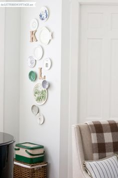 Decorating With Plates | The Lettered Cottage
