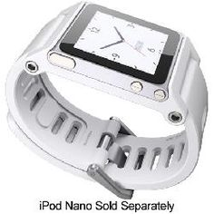 LunaTik TikTok iPod Nano White Wrist Strap - TTWHT-006