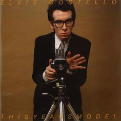 Elvis Costello - This Year's Model Photo: This Photo was uploaded by Stanzerl. Find other Elvis Costello - This Year's Model pictures and photos or uplo. Greatest Album Covers, Classic Album Covers, Music Album Covers, Music Albums, Elvis Costello, Lps, Top 100 Albums, Great Albums, Lp Cover