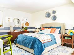DIY Network Blog Cabin 2015: Guest Bedroom Designed by HGTV Magazine | http://www.diynetwork.com/blog-cabin/2015/DIY-network-blog-cabin-2015-guest-bedroom-designed-by-hgtv-magazine-pictures?soc=pinterest