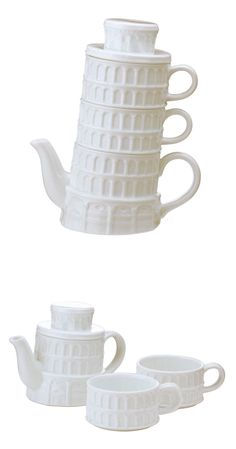 Leaning Tower of Pisa - Tea set