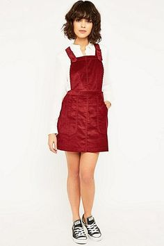UrbanOutfitters.com  Awesome stuff for you   your space Corduroy Pinafore  Dress e08b322dfd