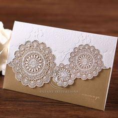 Lasercut Wedding Invitations, Elegant Wedding Invitations, Beautiful Wedding Invitations