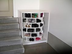 Great idea for storing shoes