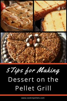 Pellet Grills are a magical piece of cooking equipment! You can use it to make almost anything – yes, even dessert! Read and share our tips for making some guest-worthy desserts on the Pellet Grill Bbq Desserts, Grilled Desserts, Grilled Fruit, Dessert Recipes, Dessert Ideas, Pellet Grill Recipes, Smoker Recipes, Grilling Tips, Grilling Recipes