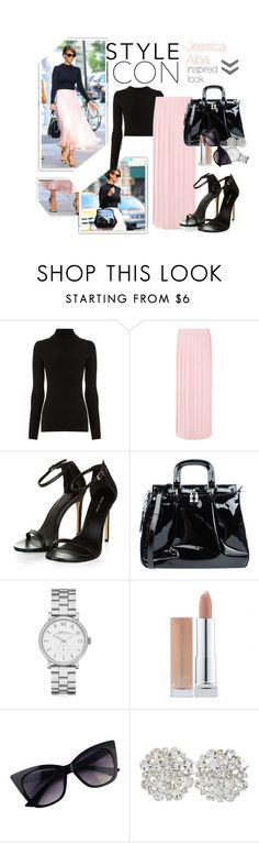 """""""Who Is Your Style Icon?"""" by ohsweetfashion ❤ liked on Polyvore featuring Alba Botanica, Warehouse, Filles à papa, Ghibli, Marc by Marc Jacobs, Inspired, jessicaalba and styleicon"""