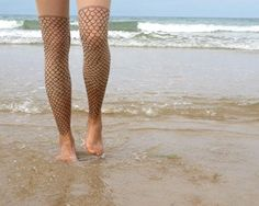 fish scale stockings - Google Search getting these for next summer,