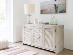 Grand Sucre is our gorgeous large sideboard. It's hand carved from solid reclaimed fir with our beautiful beached timber finish and vintage-y bronze knobs. Large Sideboard, Antique Sideboard, New Home Wishes, Kitchen Island With Sink, Bungalow Kitchen, Up House, Open Plan Living, Kitchen Living, French Antiques