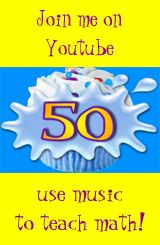 Elementary math videos and songs.  Try the 9 X 9 song to get a hint of how good these are.  His whole site is great for every classroom.  Teachers MUST use more music and teaching videos to make the quality of their lessons better. CW