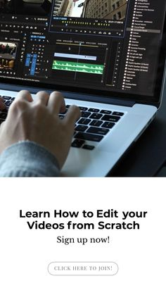 How to Edit your Videos from Scratch Video editing basics masterclass hosted by Lindsey HazelVideo editing basics masterclass hosted by Lindsey Hazel Video Editing Studio, Free Video Editing Software, Youtube Editing, Making Youtube Videos, Marketing Articles, You Videos, Making Ideas, Learning, Mobile Marketing